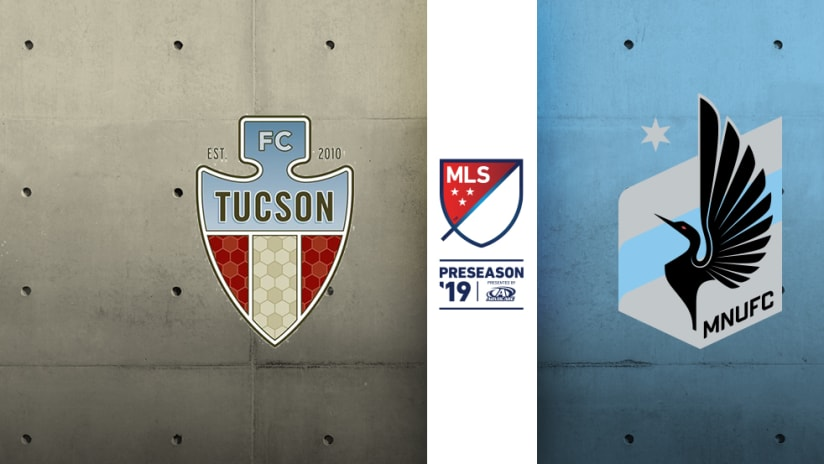 FC Tucson - Minnesota United FC - 2019 Preseason match image