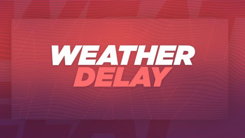 Orlando City vs. San Jose Earthquakes in weather delay