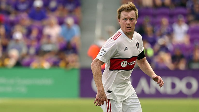 Dax McCarty - Chicago Fire - Close up