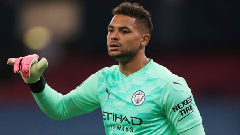 Zack Steffen - Manchester City - debut in Carabao Cup