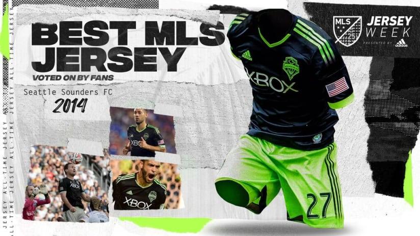 MLS Jersey Bracket winner: Seattle Sounders 2014