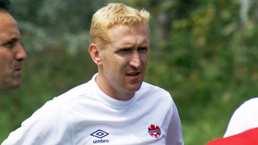 Canada U-20 coach Rob Gale