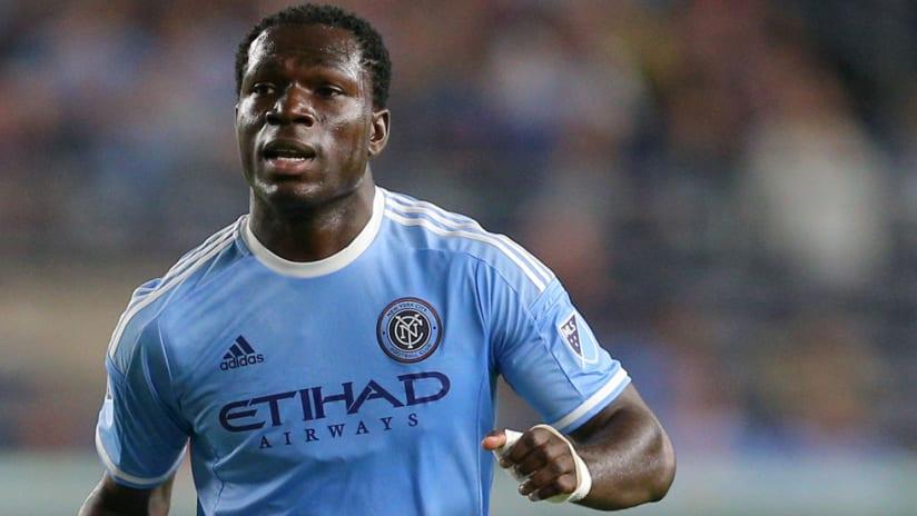 Kwadwo Poku - New York City FC - close-up