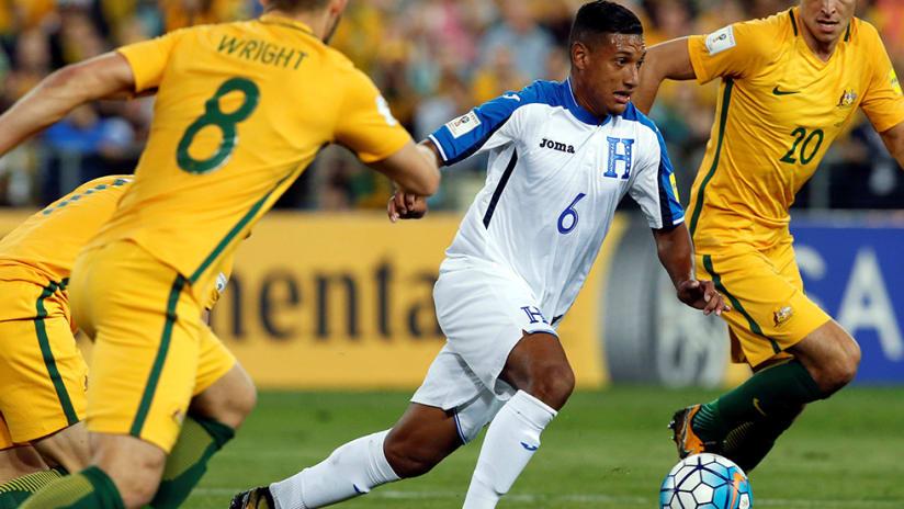 Bryan Acosta - Honduras - vs. Australia