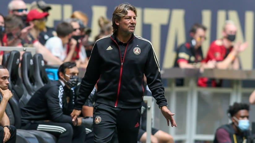 Atlanta United coach Gabriel Heinze suspended Wednesday vs. NYCFC