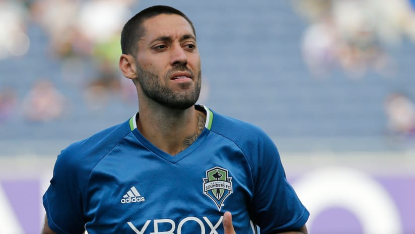 Clint Dempsey - Seattle Sounders - Pensive and alone