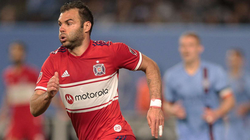 Nemanja Nikolic - Chicago Fire - Close up