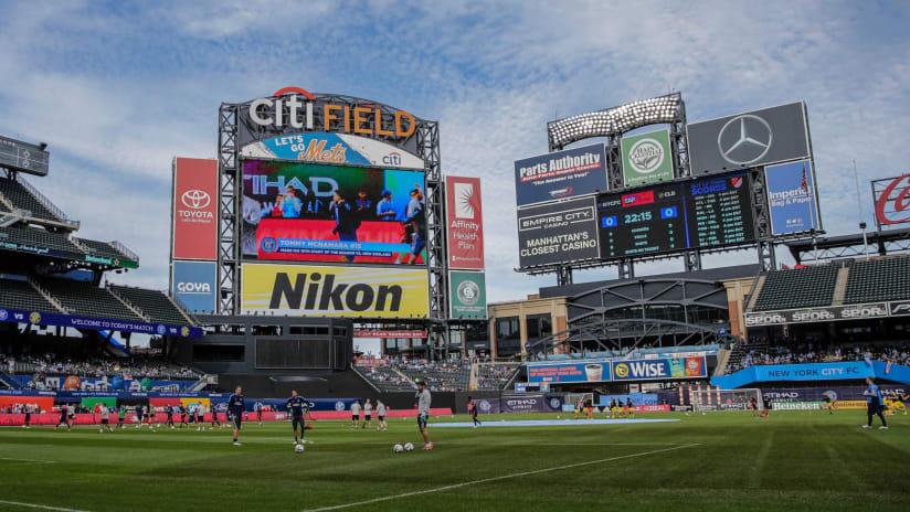 NYCFC at Citi Field 2017