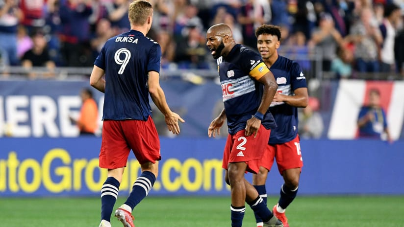LAFC in their crosshairs? New England pay little mind to record-setting pace