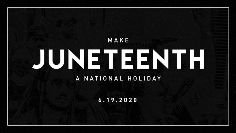 Juneteenth - FC Cincinnati