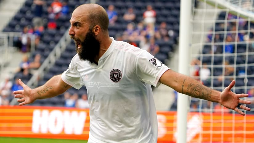 Inter Miami CF's Gonzalo Higuain named MLS Player of the Week for Week 5