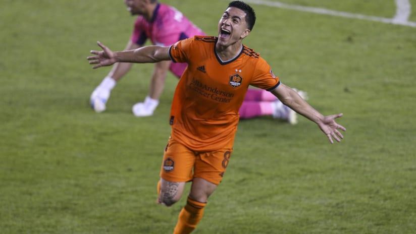 Houston Dynamo's Memo Rodriguez scores first goal of 2021 MLS season