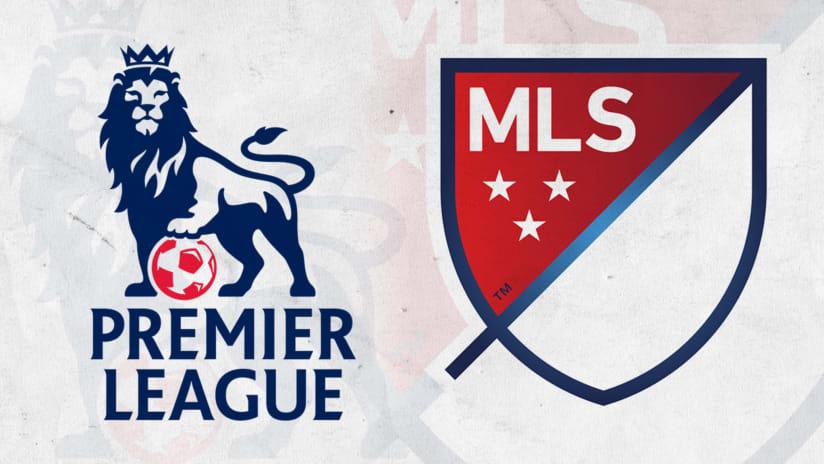 MLS and EPL dual logos