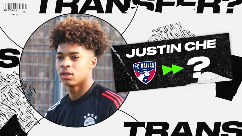 Latest on Bayern Munich's chase of FC Dallas defender Justin Che