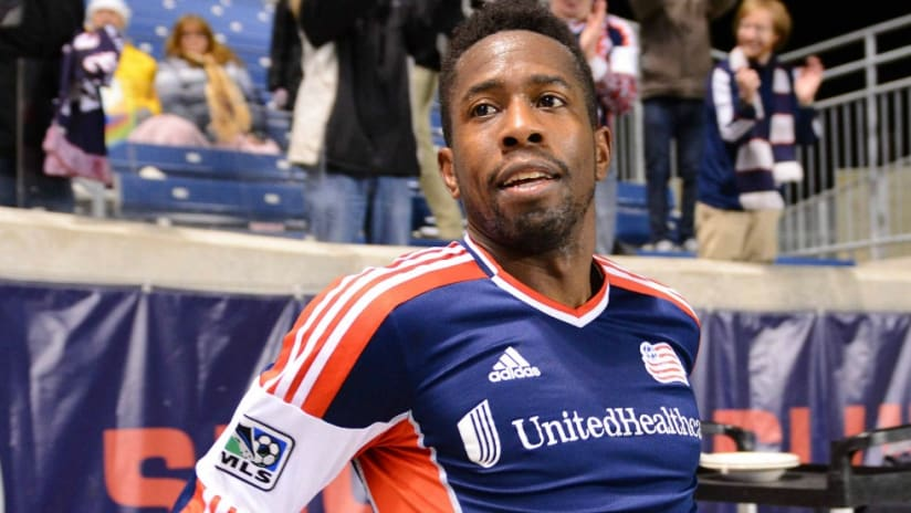 Clyde Simms - New England Revolution - isolated - 2013