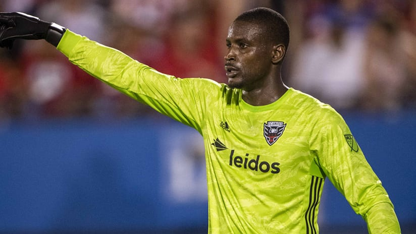 Bill Hamid - D.C. United - organizing defense