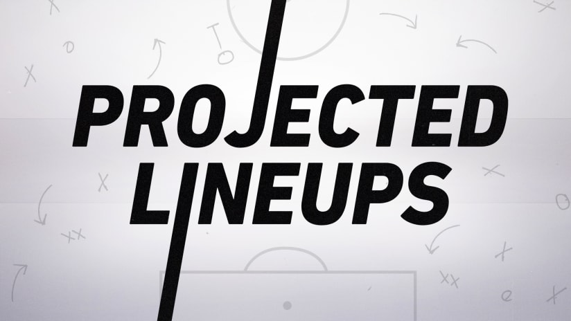 MLS projected lineups - June 12