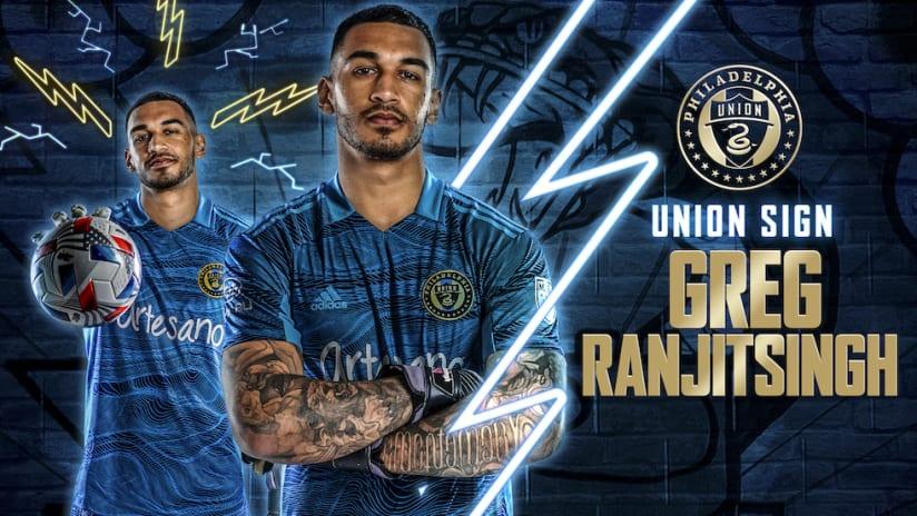 Philadelphia Union Sign Goalkeeper Greg Ranjitsingh