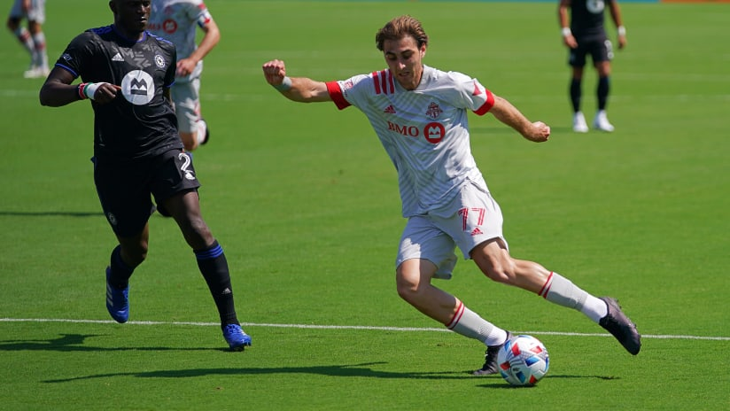 Toronto FC recall Jordan Perruzza from loan