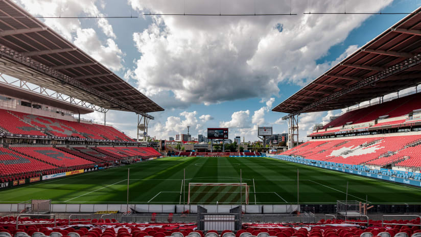 TFC ready for official homecoming from BMO Field Saturday night