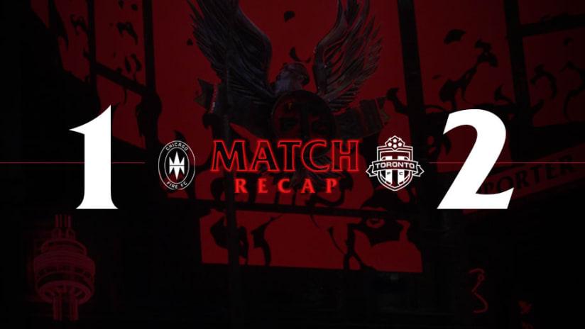 Chicago Fire FC 1, Toronto FC 2 | 2021 MLS Match Recap