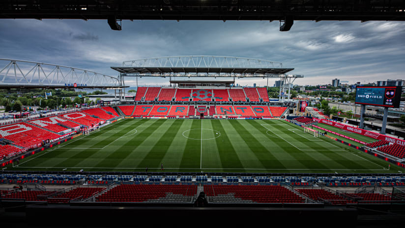 Toronto FC to play remaining 2021 season home matches at BMO Field