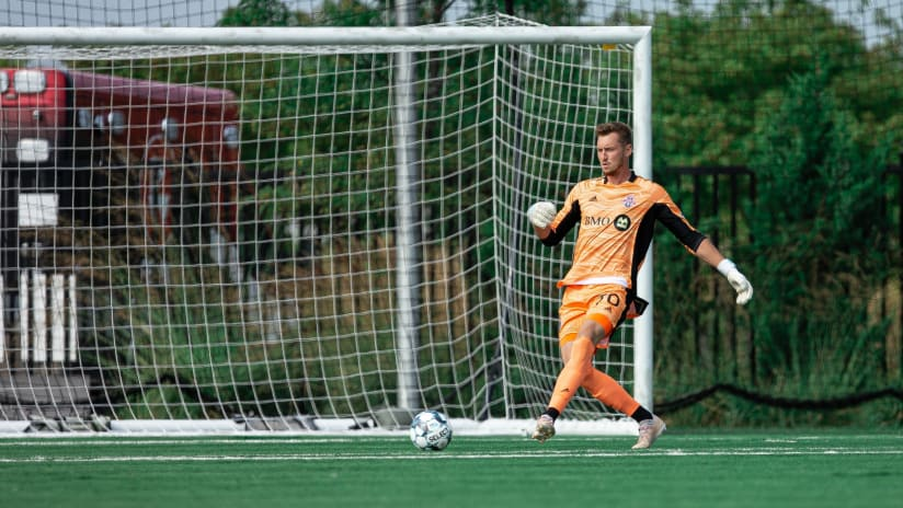 TFC II's Andreas Vaikla earns second consecutive USL League One Team of the Week nomination