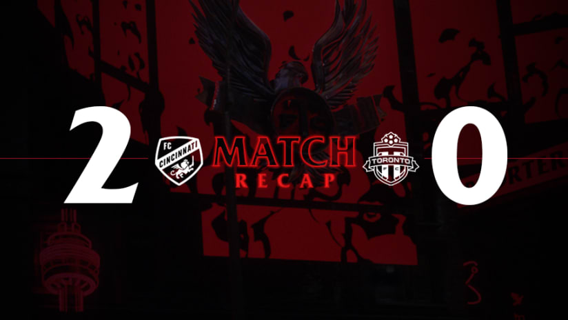 FC Cincinnati 2, Toronto FC 0   2021 MLS Match Recap