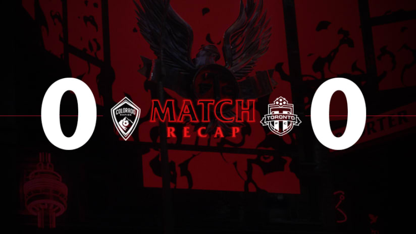 Colorado Rapids 0, Toronto FC 0 | 2021 MLS Match Recap