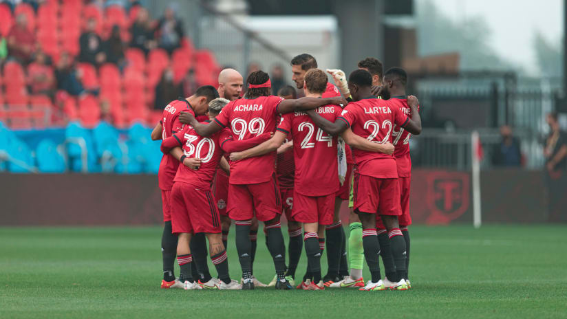 TFC feeling recharged ahead of seven-game sprint