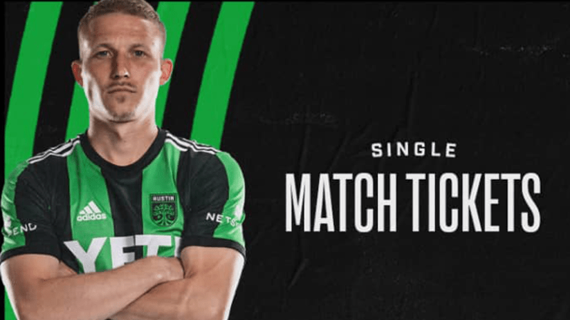 Single Match Tickets On Sale Now Through Seatgeek!