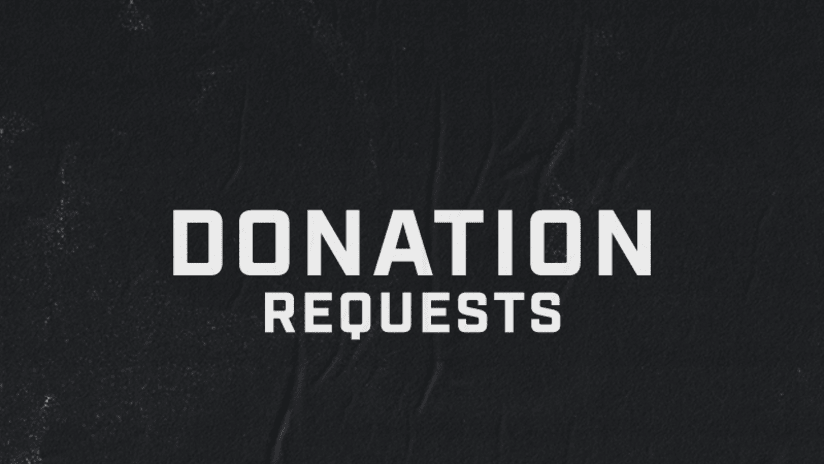 Donation Requests