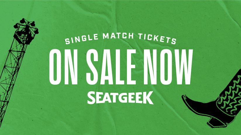Single Match Tickets On Sale Now Through Seatgeek
