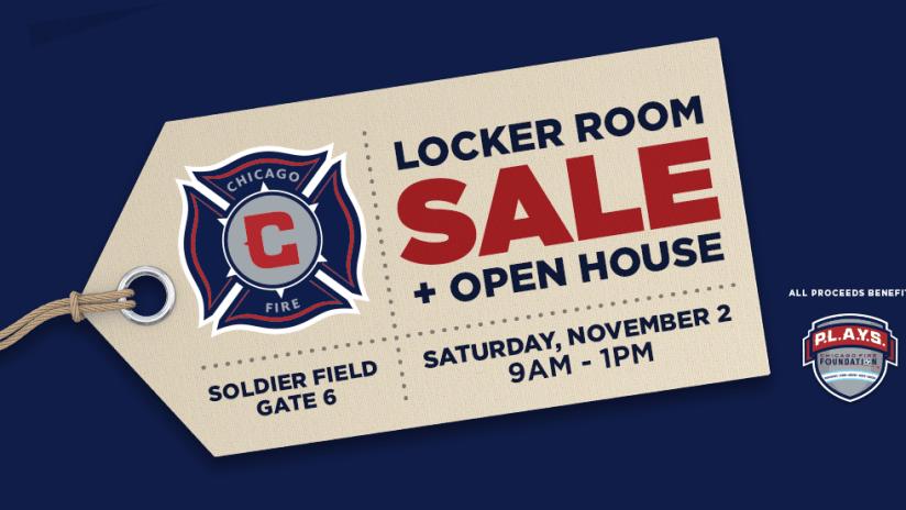2019 locker room sale