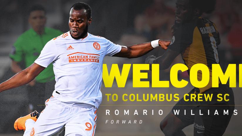 Romario Williams - Welcome Graphic - Web - 7.1.19