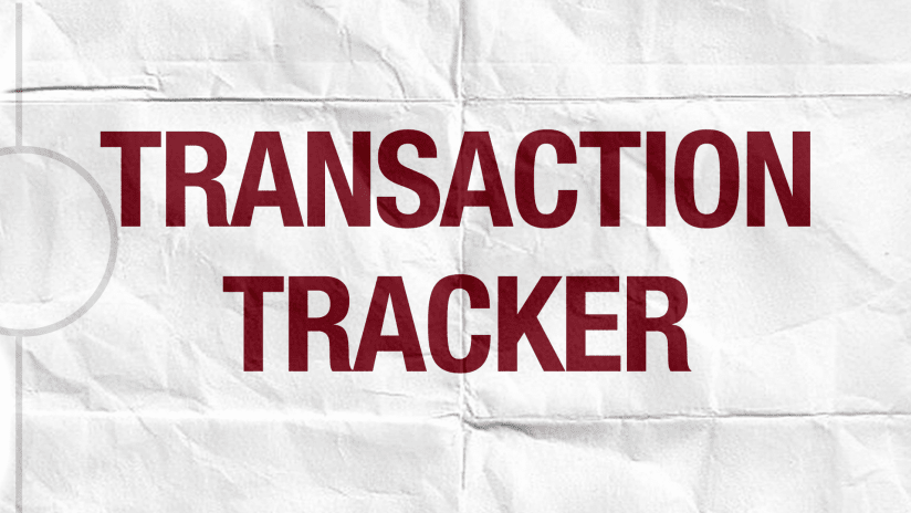 2020-21 Colorado Rapids Transaction Tracker -