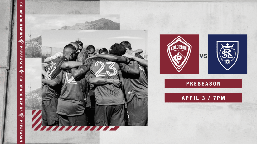 Rapids Face Rocky Mountain Cup Rivals Real Salt Lake on Saturday in Preseason Scrimmage -