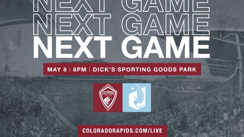 Rapids to Livestream Match Against Minnesota United FC ColoradoRapids.com