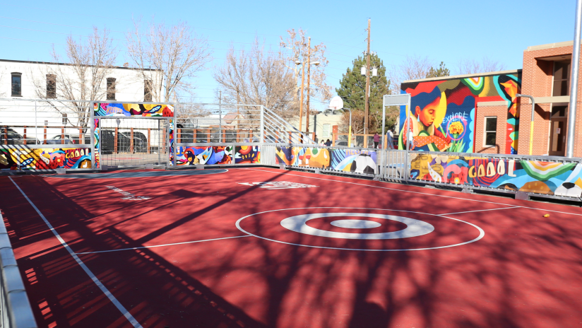 Colorado Rapids Partner with U.S. Soccer Foundation and Target to Install Mini-Pitch in Denver