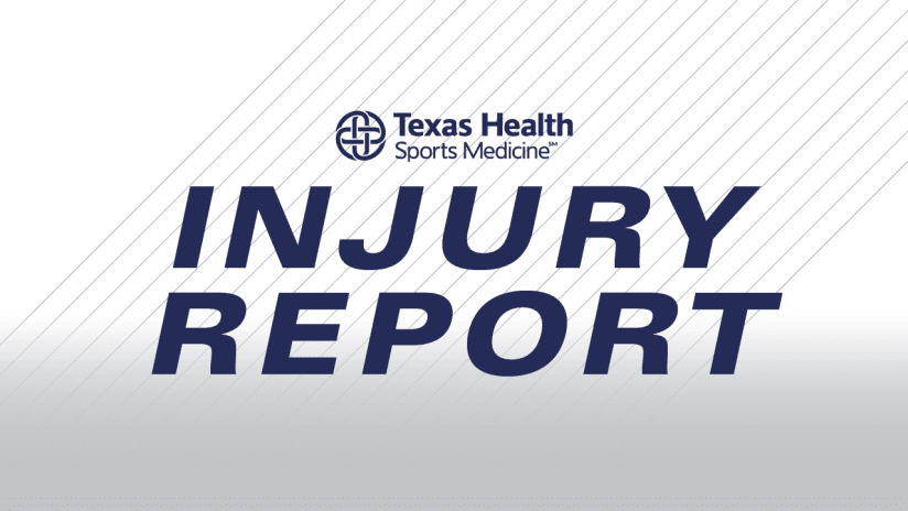 Injury Report Home DL