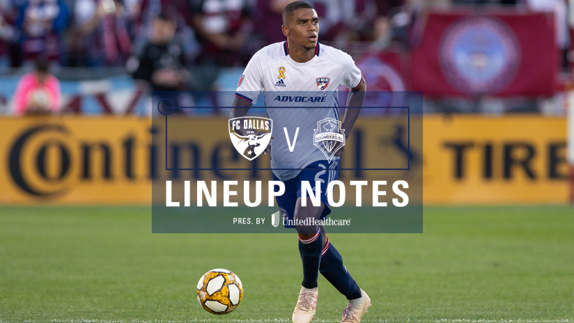 10.19 Lineup Notes