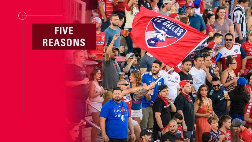 2019-08-06 Five Reasons DL