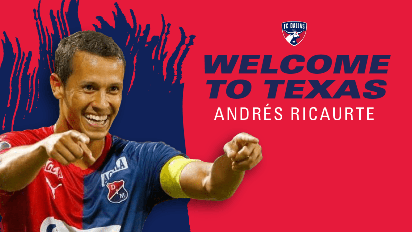 Andres Ricuarte Signing DL3 - August 14 2020