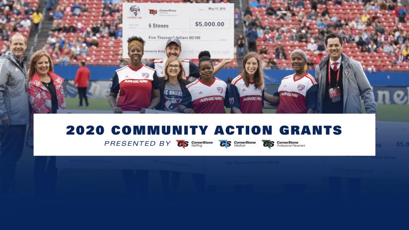 Community Action Grant Recipients - 2020 - FC Dallas Foundation  CornerStone Staffing