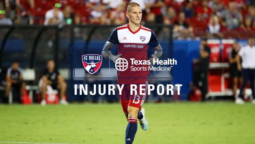 8.14 Injury Report