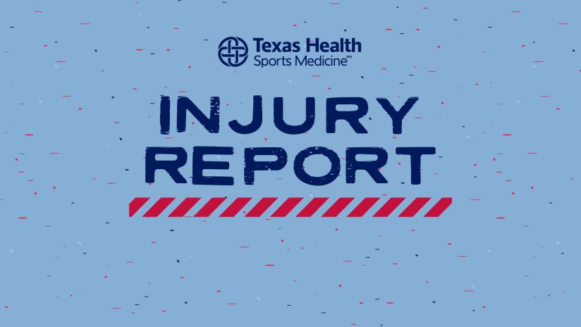 2021 Injury Report DL