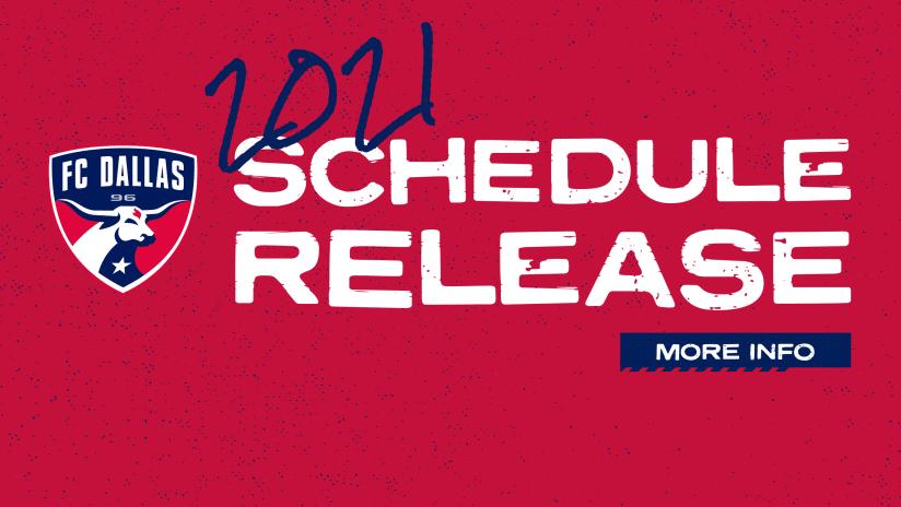2021 Schedule Announcement