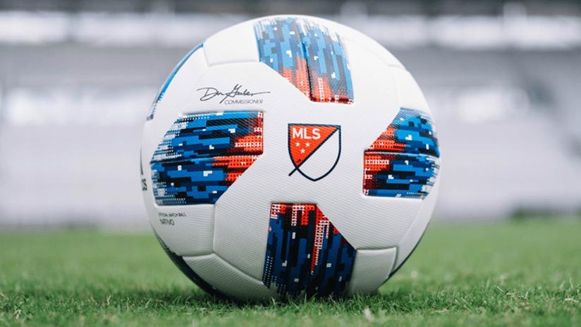 IMAGE: 2018 match ball