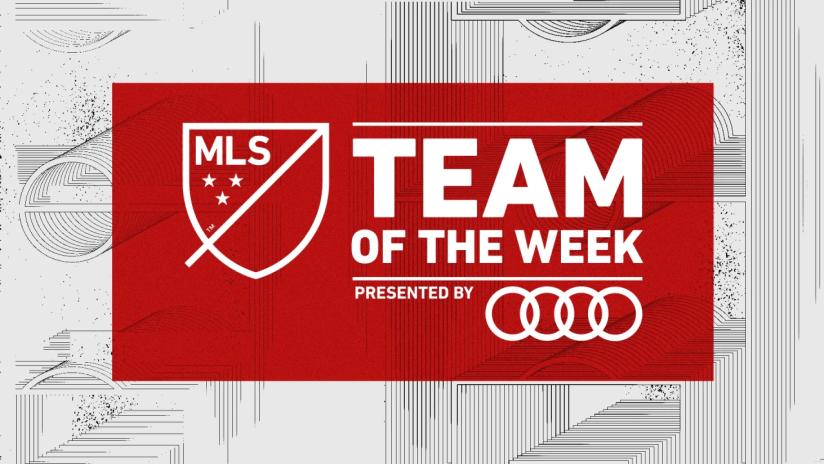 2021 MLS Team Of The Week Image
