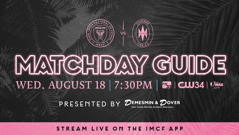 CHI_MatchdayGuide_August18_16x9